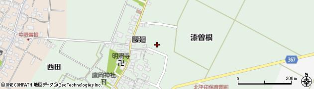 山形県酒田市漆曽根腰廻41周辺の地図