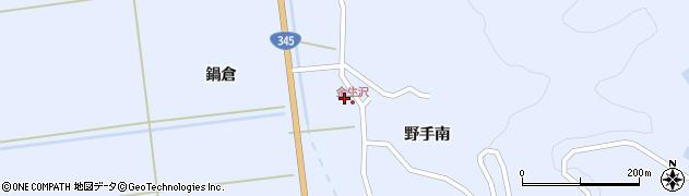山形県酒田市北沢鍋倉366周辺の地図
