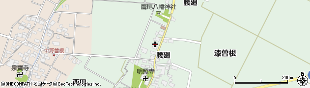 山形県酒田市漆曽根腰廻226周辺の地図
