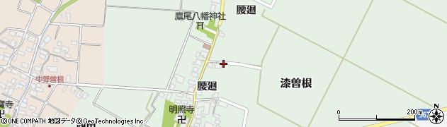 山形県酒田市漆曽根腰廻周辺の地図