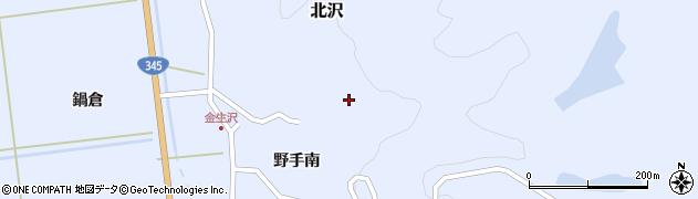 山形県酒田市北沢野手南79周辺の地図