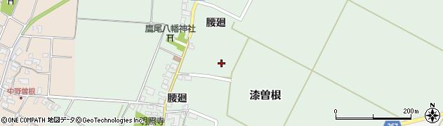 山形県酒田市漆曽根腰廻94周辺の地図