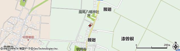 山形県酒田市漆曽根腰廻214周辺の地図