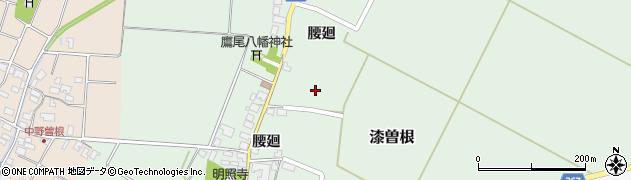 山形県酒田市漆曽根腰廻71周辺の地図