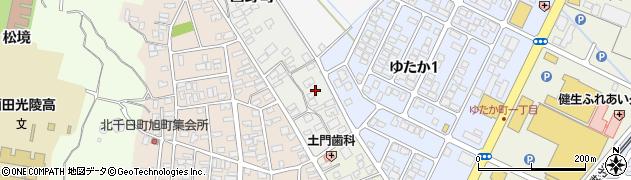 山形県酒田市西野町2周辺の地図