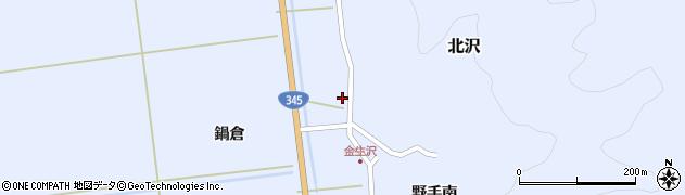 山形県酒田市北沢鍋倉250周辺の地図