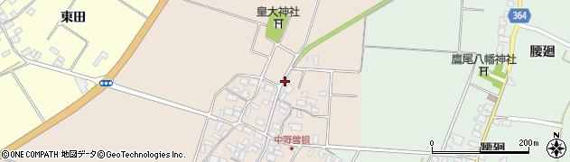 山形県酒田市中野曽根四枚田146周辺の地図
