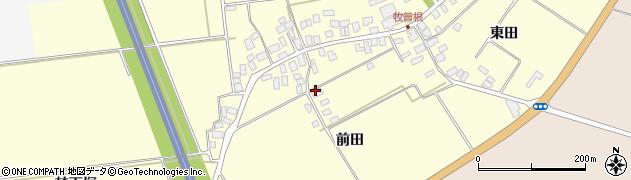 山形県酒田市牧曽根前田54周辺の地図