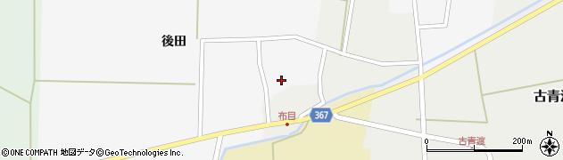 山形県酒田市布目後田5周辺の地図