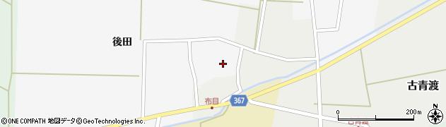山形県酒田市布目後田3周辺の地図