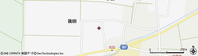 山形県酒田市布目後田23周辺の地図