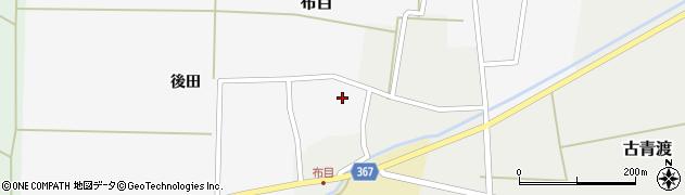 山形県酒田市布目後田15周辺の地図