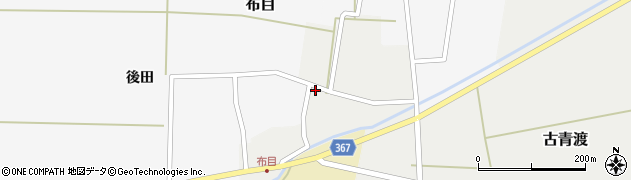 山形県酒田市古青渡古青渡177周辺の地図