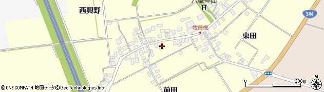 山形県酒田市牧曽根前田10周辺の地図
