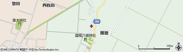 山形県酒田市漆曽根腰廻194周辺の地図