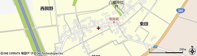 山形県酒田市牧曽根前田45周辺の地図