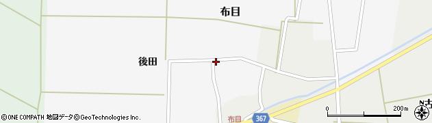 山形県酒田市布目後田21周辺の地図