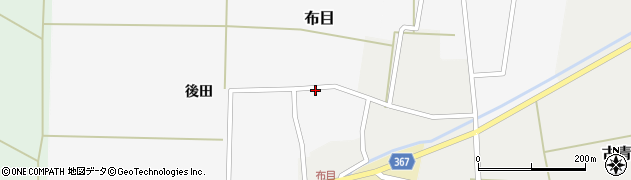 山形県酒田市布目後田20周辺の地図