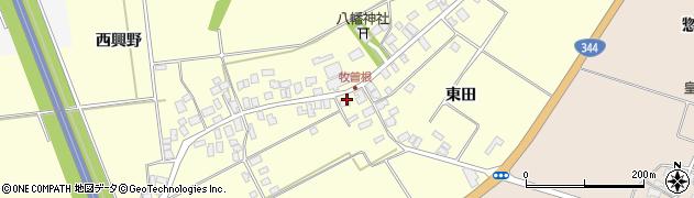 山形県酒田市牧曽根東田67周辺の地図