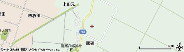 山形県酒田市漆曽根腰廻105周辺の地図