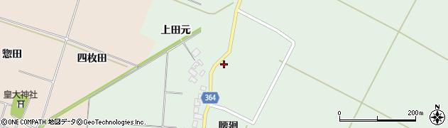 山形県酒田市漆曽根腰廻138周辺の地図