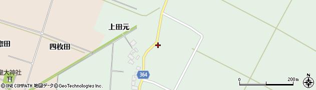 山形県酒田市漆曽根腰廻139周辺の地図