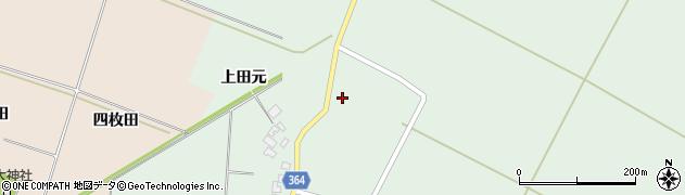 山形県酒田市漆曽根腰廻163周辺の地図
