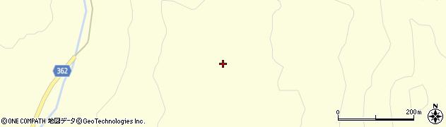山形県酒田市北俣(大師石)周辺の地図