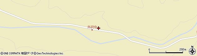 山形県最上郡金山町中田36周辺の地図
