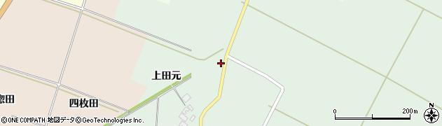 山形県酒田市漆曽根上田元111周辺の地図