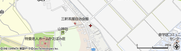 山形県酒田市西野町4周辺の地図