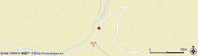 山形県最上郡金山町中田22周辺の地図