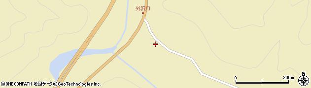 山形県最上郡金山町中田56周辺の地図