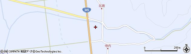山形県酒田市北沢新川作3周辺の地図