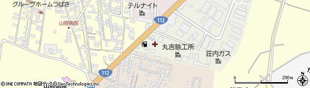 山形県酒田市松美町1周辺の地図