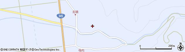 山形県酒田市北沢長面12周辺の地図