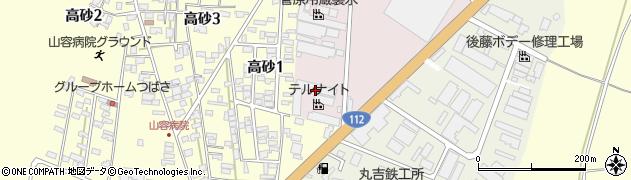 山形県酒田市北浜町2-100周辺の地図