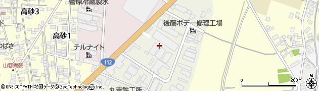 山形県酒田市松美町3周辺の地図
