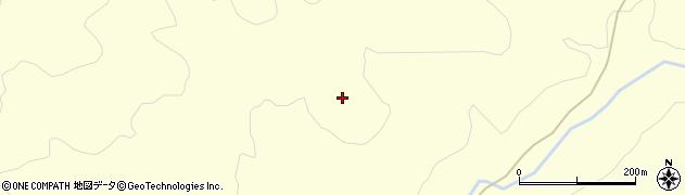 山形県酒田市北俣(桂沢)周辺の地図