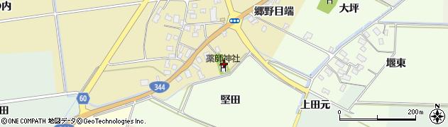 山形県酒田市上野曽根郷野目端59周辺の地図