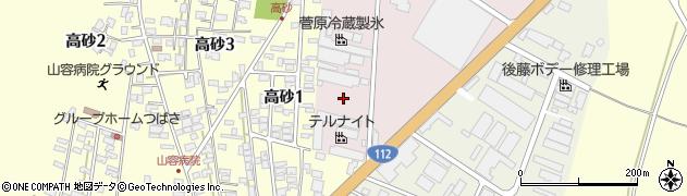 山形県酒田市北浜町2周辺の地図