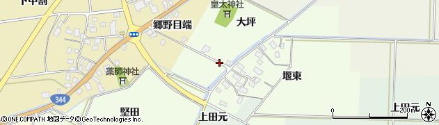 山形県酒田市上興野堅田1周辺の地図