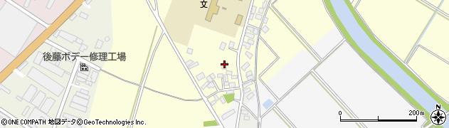 山形県酒田市豊里下西割53周辺の地図