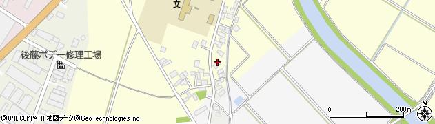 山形県酒田市豊里芦原98周辺の地図