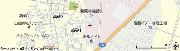 山形県酒田市北浜町2-89周辺の地図