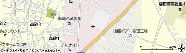 山形県酒田市北浜町1周辺の地図
