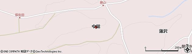 岩手県一関市千厩町磐清水(中舘)周辺の地図