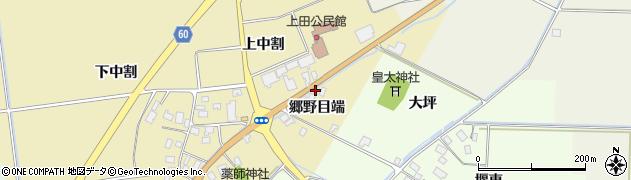 山形県酒田市上野曽根郷野目端19周辺の地図