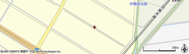 山形県酒田市豊里沼下シド周辺の地図