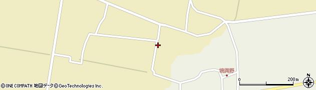 山形県酒田市前川楯前38周辺の地図